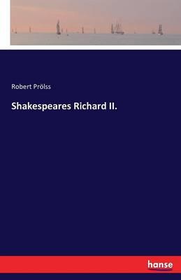 Shakespeares Richard II. (Paperback)