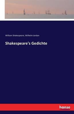 Shakespeare's Gedichte (Paperback)