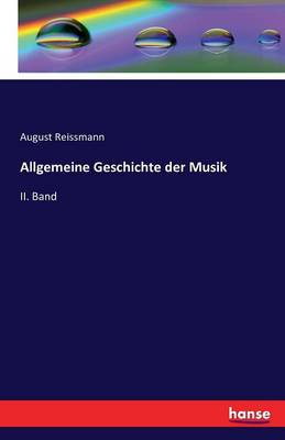 Allgemeine Geschichte Der Musik (Paperback)