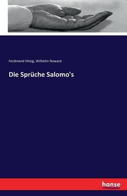 Die Spruche Salomo's (Paperback)