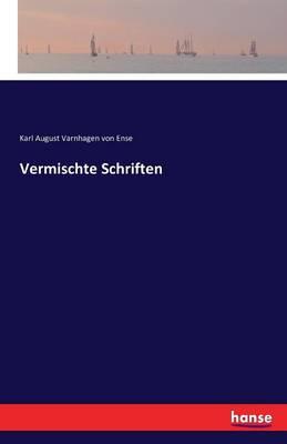 Vermischte Schriften (Paperback)