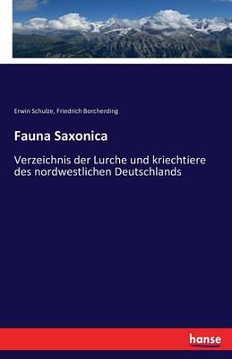 Fauna Saxonica (Paperback)