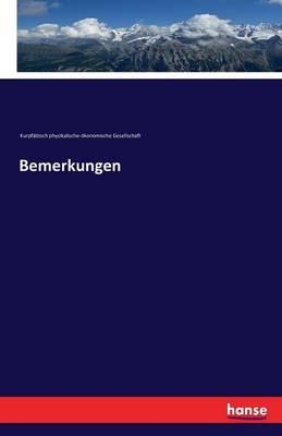 Bemerkungen (Paperback)
