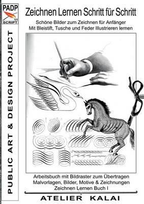 Padp-Script 11: Zeichnen Lernen Schritt Fur Schritt - Schone Bilder Zum Zeichnen Fur Anfanger - Mit Bleistift, Tusche Und Feder Illustrieren Lernen (Paperback)