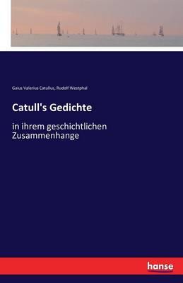 Catull's Gedichte (Paperback)