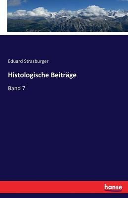 Histologische Beitr ge (Paperback)