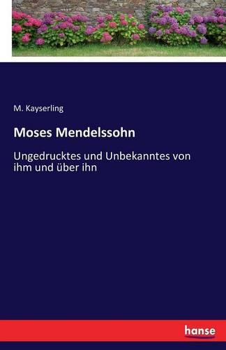 Moses Mendelssohn (Paperback)