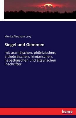 Siegel Und Gemmen (Paperback)