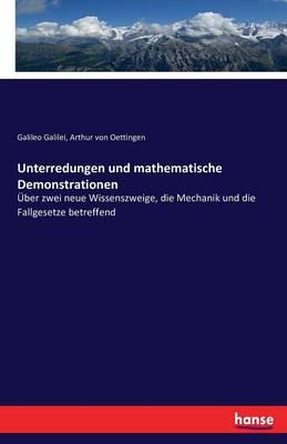 Unterredungen Und Mathematische Demonstrationen (Paperback)