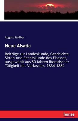 Neue Alsatia (Paperback)