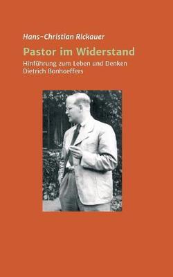 Pastor Im Widerstand (Paperback)