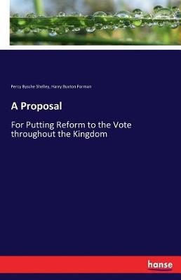 A Proposal (Paperback)
