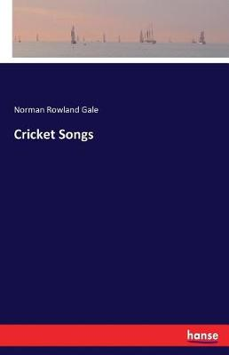 Cricket Songs (Paperback)