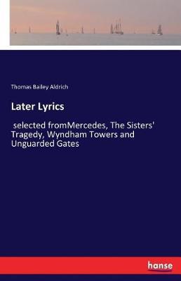 Later Lyrics (Paperback)