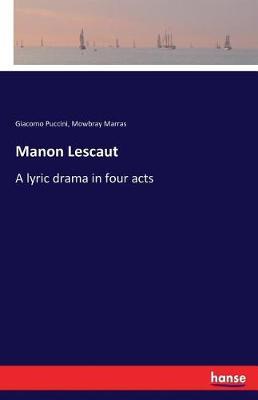 Manon Lescaut (Paperback)