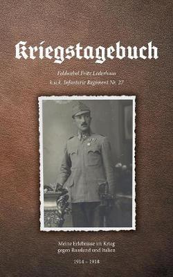 Kriegstagebuch (Paperback)