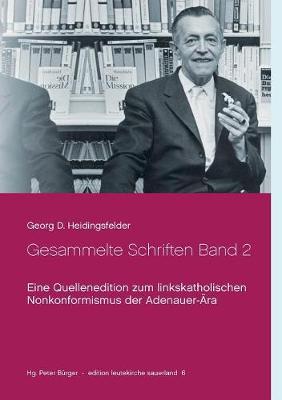 Gesammelte Schriften Band 2 (Paperback)