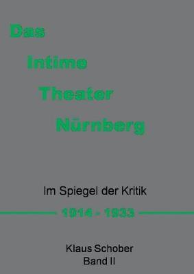 Das Intime Theater Nurnberg (Paperback)