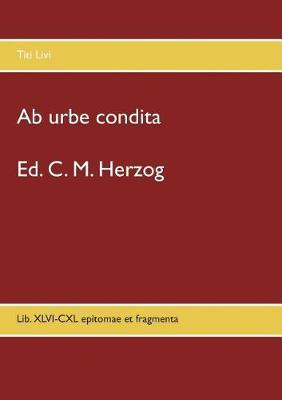 AB Urbe Condita (Paperback)