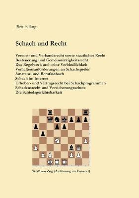 Schach und Recht (Paperback)