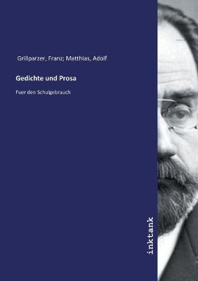 Gedichte und Prosa (Paperback)