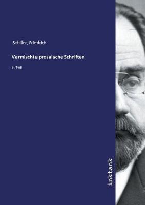 Vermischte prosaische Schriften (Paperback)