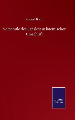 Vorschule des Sanskrit in lateinischer Umschrift (Hardback)