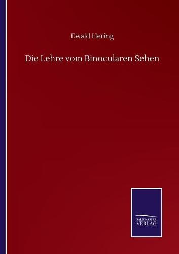 Die Lehre vom Binocularen Sehen (Paperback)