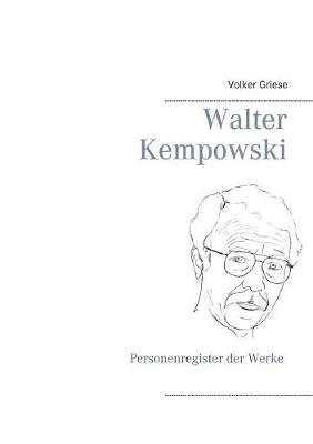Walter Kempowski (Paperback)