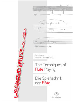 The Techniques of Flute Playing: v. 1 (Sheet music)