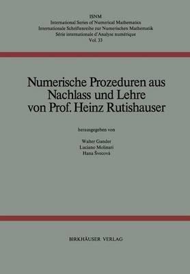 Numerische Prozeduren (Hardback)