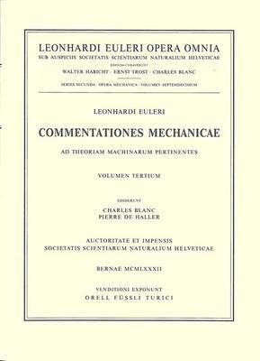Commentationes astronomicae ad praecessionem et nutationem pertinentes. Second part - Opera mechanica et astronomica 2 / 30 (Hardback)