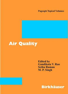 Air Quality - Pageoph Topical Volumes (Paperback)