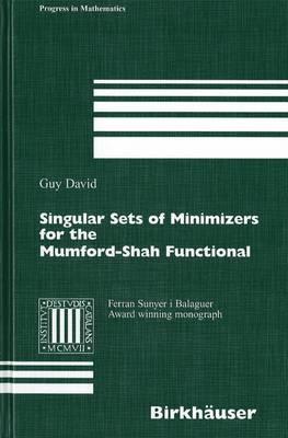 Singular Sets of Minimizers for the Mumford-Shah Functional - Progress in Mathematics 233 (Hardback)