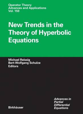 New Trends in the Theory of Hyperbolic Equations - Advances in Partial Differential Equations 159 (Hardback)