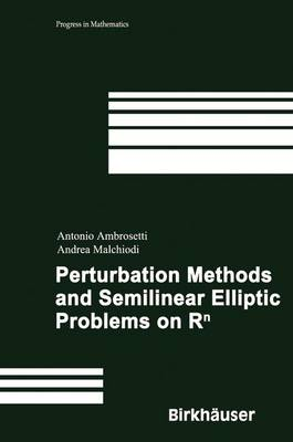 Perturbation Methods and Semilinear Elliptic Problems on R^n - Progress in Mathematics 240 (Hardback)