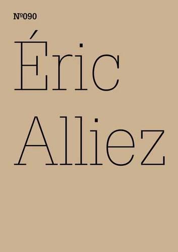 Eric Alliez: Diagramm 3000 [Worte] (Paperback)