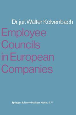 Employee Councils in European Companies (Paperback)