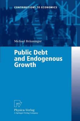 Public Debt and Endogenous Growth - Contributions to Economics (Paperback)