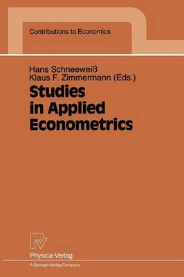 Studies in Applied Econometrics - Contributions to Economics (Paperback)