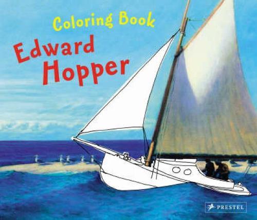 Edward Hopper: Coloring Book (Paperback)