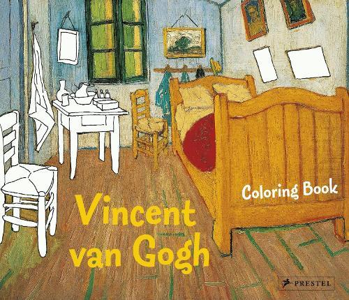 Coloring Book Vincent Van Gogh - Coloring Books (Paperback)