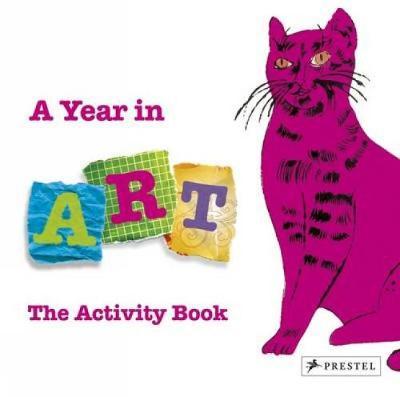 Year in Art: the Activity Book (Hardback)