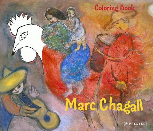 Marc Chagall: Coloring Book (Paperback)