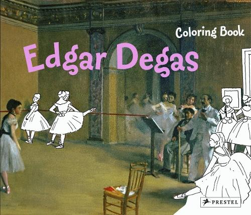 Edgar Degas Coloring Book Paperback