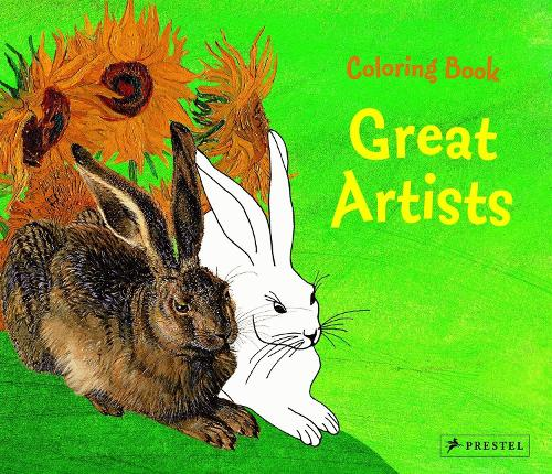 Great Artists Coloring Book (Paperback)