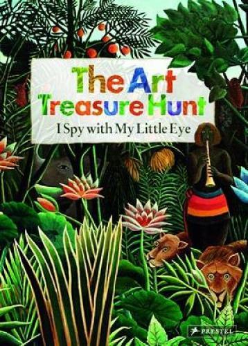 Art Treasure Hunt: I Spy with My Little Eye (Hardback)