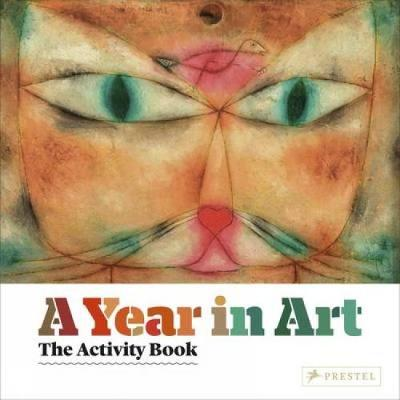 A Year In Art: The Activity Book (Hardback)