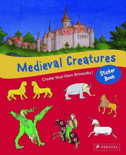Medieval Creatures Sticker Book (Paperback)
