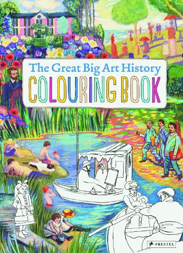 The Great Big Art History Colouring Book (Paperback)